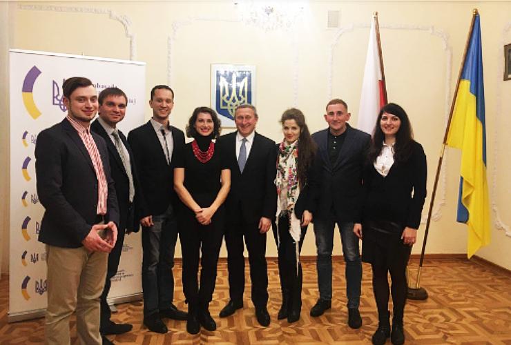 Міжнародне співробітництво з польськими представниками
